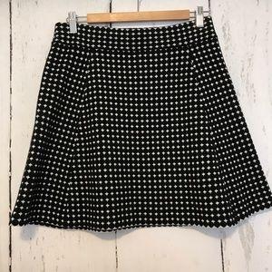 Theory a line mini skirt